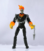 "Marvel SUPER HERO Ghost Rider Movie 6"" Loose Auction Figure ZX295"