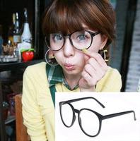 Wholesale Fashion 2930 Women Men Oversize Frame Eye Glasses Myopia Spectacles frame Clear lens Free shipping
