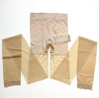 Male ultra-thin transparent belt jj sets pantyhose high-elastic Open crotch