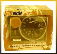 """5""""  (125mm)  Monster Tachometer0-1000  rm gauge/ black face ,black case ,silver rim/auto gauge/auto meter/tachometer/car meter"""