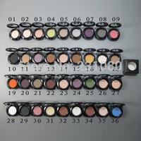 36PCS Classic Brand Makeup Cosmetics 1.5G Matte Eyeshadow Fashion Focus 36-Colors Eye Shadow Free Shipping