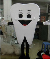 Christmas Big Tooth mascot costume school mascot fancy dress costumes