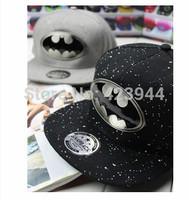 Plain solid color baseball cap hiphop hip-hop cap personality all-match flat-brimmed hat