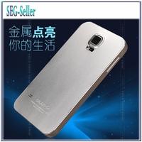 S5 Fashion Ultra thin Metal Aluminum Back Case For Samsung Galaxy S5 SV I9600 G9006 Phone Bag Cover Free Screen Flim