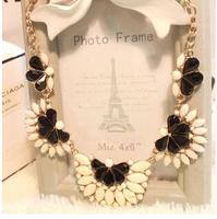Candy Shourouk Gem Ethnic Collar Choker Chunky Bib Statement Necklaces & Pendants New 2014 Fashion Jewelry Women Wholesale N166