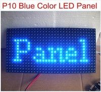 Blue color   P10 outdoor LED display moudle /32*16 pixle Scrolling Message