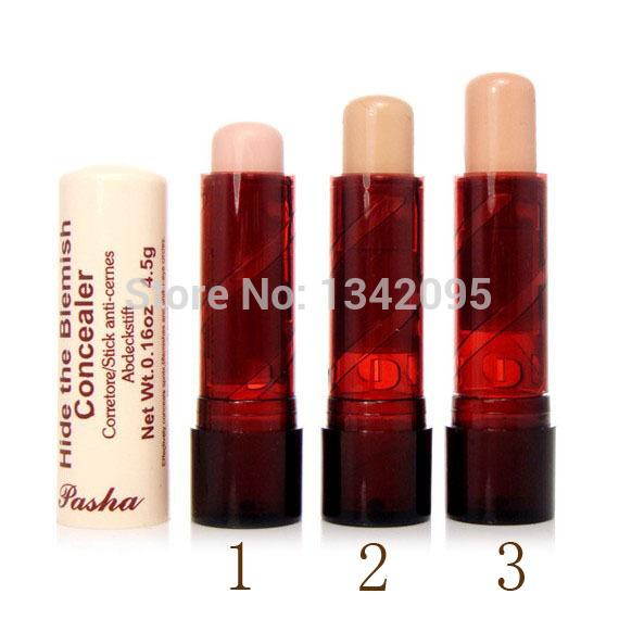 France Pasha New BlemisConcealer h Creamy Stick Makeup Face Eye Lip Concealer Cream Beauty Care