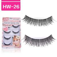 High-grade natural eyelashes false eyelashes cross fashion eye lash HW-26
