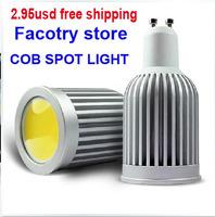 hot sale 9W GU10 85~220V   cob  led spotlight GU5.3 cob led spot light  led DIM  spot light E27 cob Bulb light E14 cob bulb