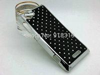S36H C2105 C2104 Case MOQ:1PCS Stock Bling Silver Case Rhinestone Diamond Case For Sony-Ericsson Xperia L S36H C2105 C2104 Case