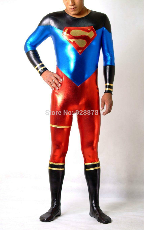 Black Suit Superman Superman Fight Color Suit