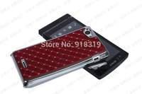 St26 Case MOQ:1PCS Stock Bling Silver Case Rhinestone Diamond Case For Sony-Ericsson Xperia J St26i St26a Case