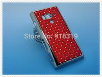 LT26W Case MOQ:1PCS Stock Bling Silver Case Rhinestone Diamond Case For Sony-Ericsson Xperia Acro S LT26W Case