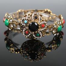 Alex And Ani Bracelets European Style 18 k Gold Good Luck Charm Crystal Flower Gift Love Bracelet For Women