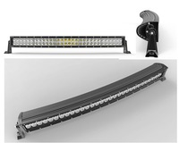"2015 New Curving Bent 31.5"" 180W Off road Truck SUV Tractor Boat 4WD Spot Flood beam curved cree LED Light Bar"