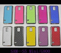 S5 mini Case MOQ:1PCS Stock Bling Silver Case Rhinestone Diamond Case For Samsung S5 mini G800 G800F G800H Case