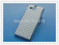 ST25 Case MOQ:1PCS Stock Bling Silver Case Rhinestone Diamond Case For Sony-Ericsson Xperia U St25 St25i  Case