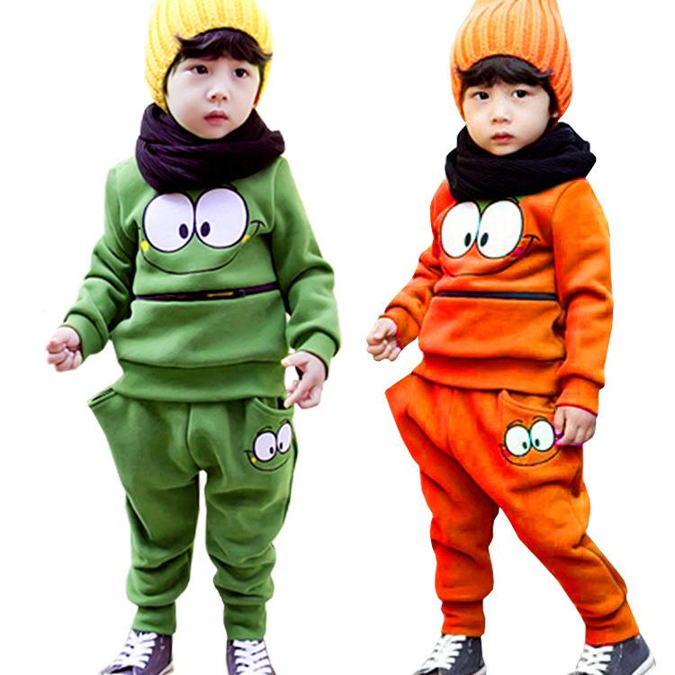 New Children Clothing Set Coat+P