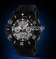 Hot Sale Skmei led digital quartz dual time silicone strap men wristwatch waterproof outdoor trending fashion men's watch 1028
