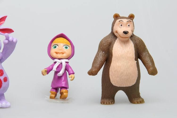 Masha And The Bear Toys uk of Masha Bear Action Toy