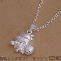 AN033 925 sterling silver Necklace 925 silver fashion jewelry pendant calf /akkajbra gdvaovca