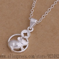 AN039 925 sterling silver Necklace 925 silver fashion jewelry pendant mouse /akqajbxa gebaovia