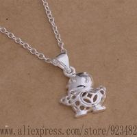 AN036 925 sterling silver Necklace 925 silver fashion jewelry pendant beautiful object /aknajbua gdyaovfa