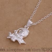 AN020 925 sterling silver Necklace 925 silver fashion jewelry pendant fairchild /ajxajbea gdiaoupa