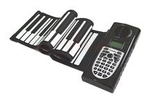 49 teclas padrão Digital Roll up dobrável toque macio Piano teclado flexível órgão eletrônico para crianças presente grátis frete(China (Mainland))