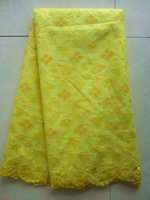 yellow color free shipping swiss voile lace organza  material best quality for wedding and party african lace fabric