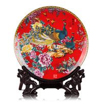 Ceramics pastels, hanging plate decoration plate home decoration crafts decoration