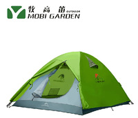 High Quality 2014 New 2 person Outdoor barraca camping Equipment Waterproof Windproof Double Layer Tent Free shipping