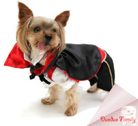 Fall and spring vampire cloak  halloween costume  fit Chihuahua, Ted, poodles,bulldog,yorkshire puppy dog post it free