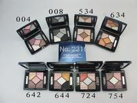 8PCS New Classic Luxury Cosmetics Brand 5-Colors SERUM-ENRICHED PRIMER & EYESHADOWS High Quality Brand 8-Colors Eye Shadow