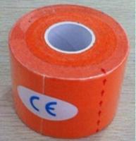 Orange y711-6  5cm x 5m Kinesiology Kinesio Roll Cotton Elastic Adhesive Muscle Sports Tape Bandage Physio Strain Injury Support