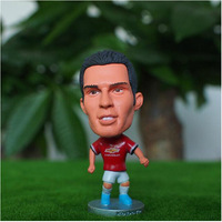 Hot sale!New arrival!14-15 season Free shipping football star doll/toy figure of robin van persie in MU football fan souvenirs