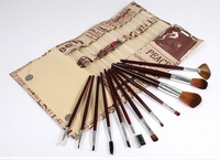 Hot Sale  12PCS Cosmetics Makeup Brushes Synthetic Hair Make Up Brush High Quality Make up Brush