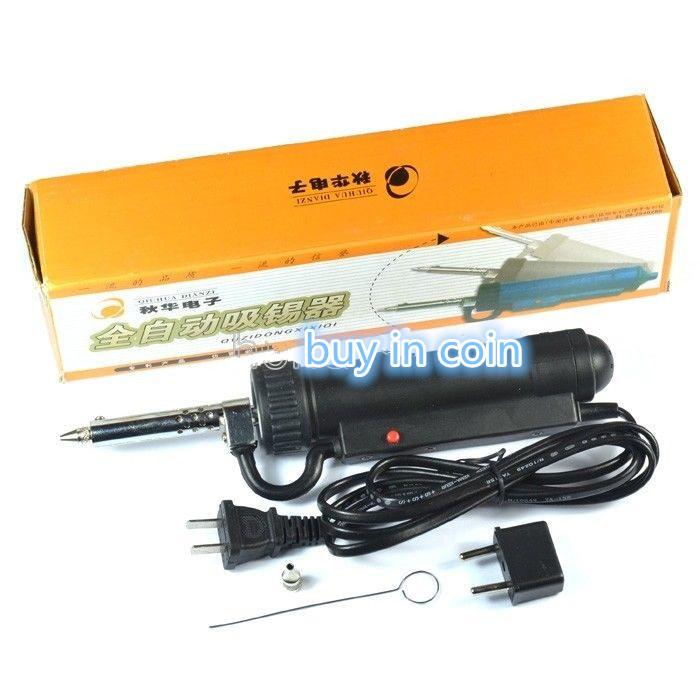 Electric Vacuum 30W 220V 50Hz Electric Vacuum Solder Sucker / Desoldering Pump / Iron Gun(China (Mainland))