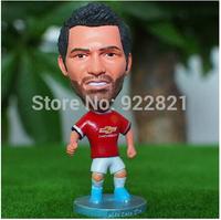 Hot sale!New arrival!14-15 season Free shipping football star doll/toy figure of juan mata in MU football fan souvenirs
