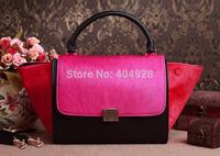 TOSSO 3342  HORSE FAIR original caviar leather  2014  new  fashion women design leather totes bag  handbag top quality wholesale