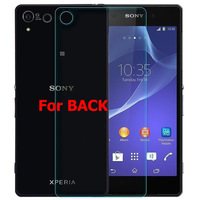 Z2 BACK Premium 2.5D Tempered Glass Screen Protector Film Guard For Sony Xperia Z2 BACK, With Package Free Shipping