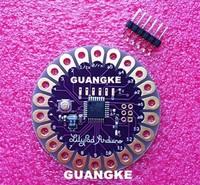 Free shipping LilyPad 328 Main Board ATmega328P ATmega328 16M For Arduino