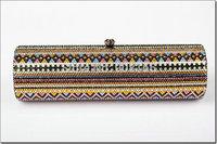 free shipping new 2014 crystal long style purses high quality women brand clutch handbag fashion bags BB5397