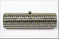 free shipping new 2014 crystal long style women bags top quality women clutch handbag fashion bags BB5410
