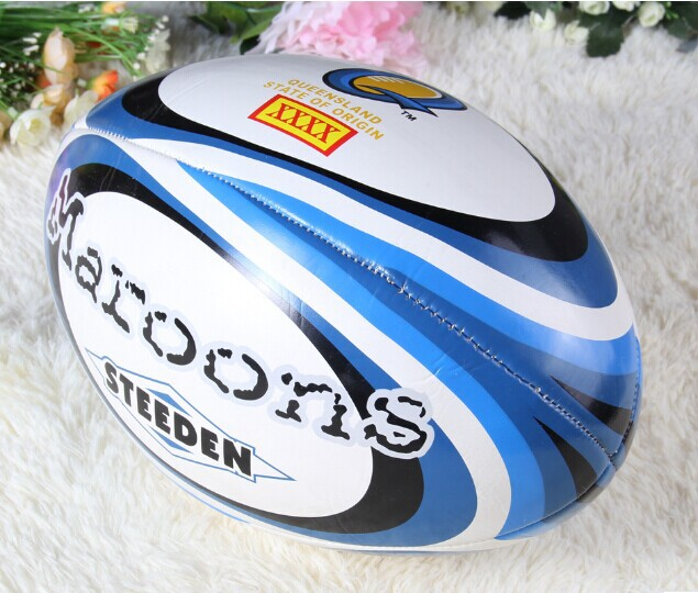 professional size 9 PU Rugby Ball New Zealand World Cup Rugby American Football Ball For Match and Training futebol americano(China (Mainland))
