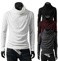 No Profit 2014 Men Winter Turtleneck Pullover Thermal Sweater Multi color option Solid design Soft and Warm free shipping