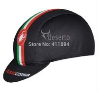 New Cycling CAP Castelli ROSSO CORSA Hood Bike Cycling Sports Wear Headgear Hot sale hat cool Headcloth Sportswear