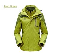 Ms. Jackets Outdoor Couple Models Including Two-piece Waterproof  Windproof  Warm Fleece Liner Jacket Triple  Free Shipping