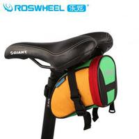 new bike colorful tail bag mountain bike road bike saddle bag folding bike tail bag 13656
