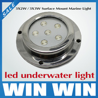 Professional Manufacturer 6W LED Fountain Marine Lights LED Underwater Boat Light